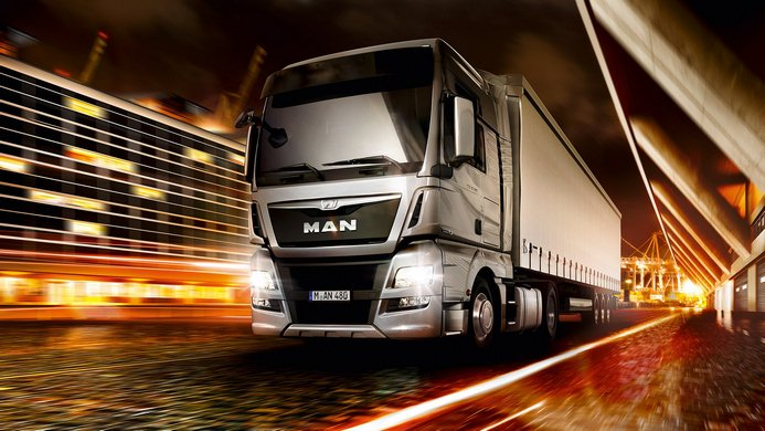 حمل بار با کامیون به مراغه