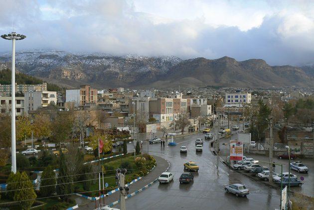 باربری تهران به ایلام