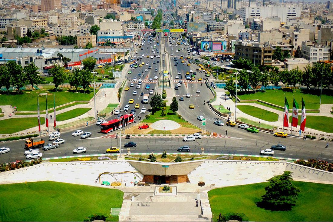 باربری تهران به تبریز