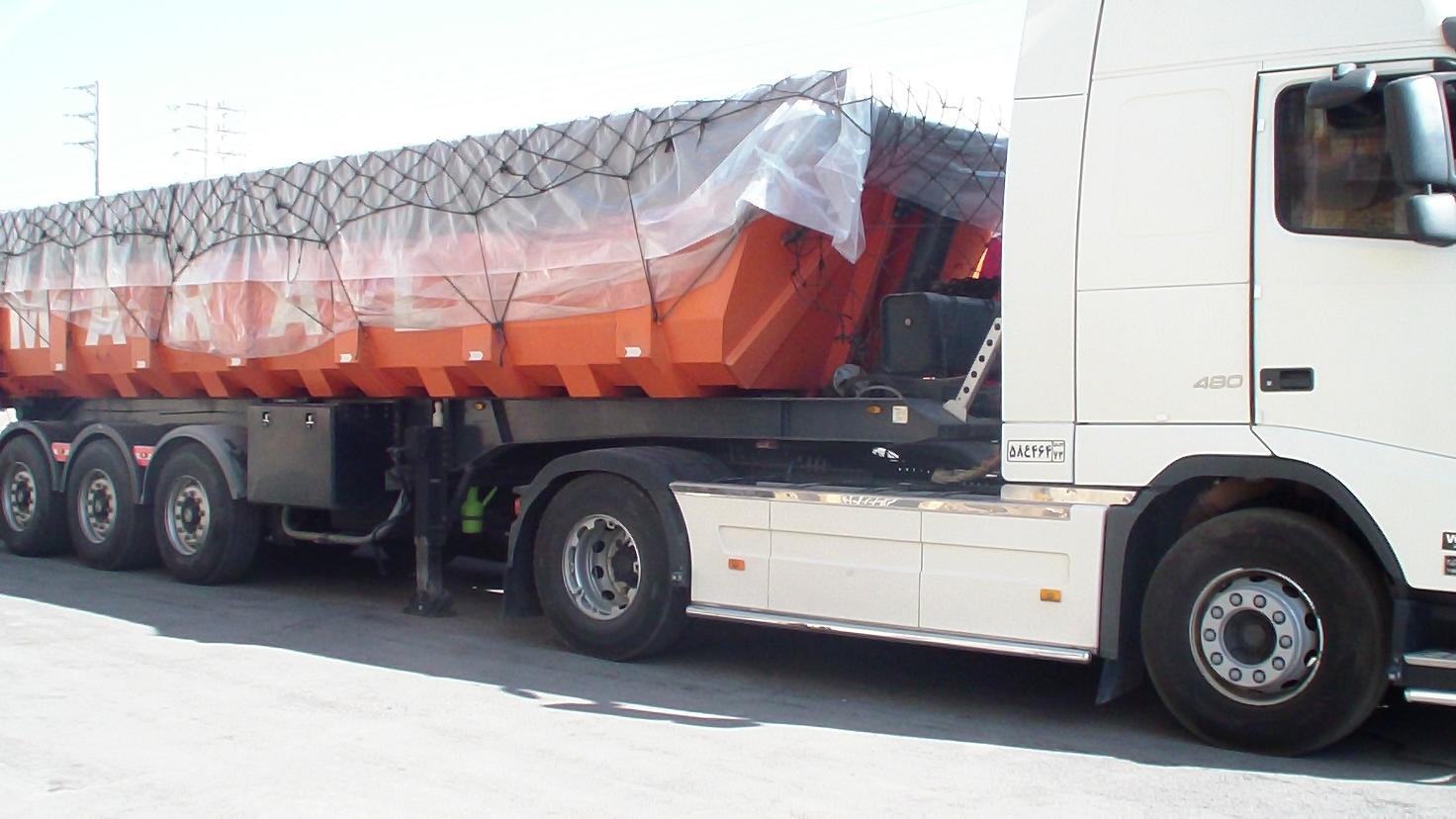 کرایه کامیون تهران به بندر امام