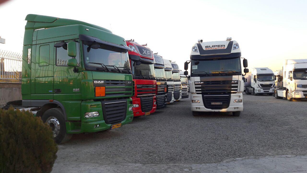 کرایه کامیون تهران به درود