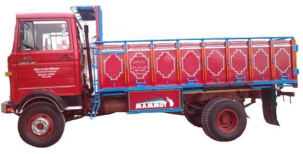 کامیون باربری تهران به اصفهان