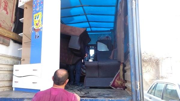 حمل اثاث منزل تهران به شهرستان