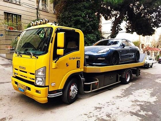 حمل خودرو با خودروبر به کرمان