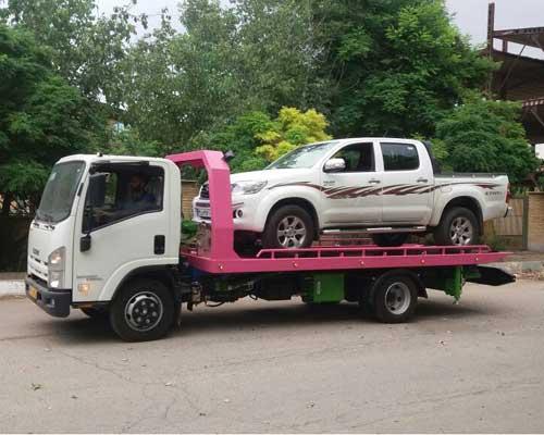 حمل خودرو به کرمانشاه
