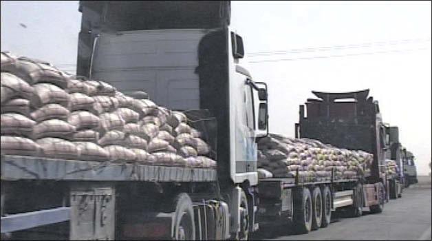 حمل گچ و سيمان از تهران به شهرستانها