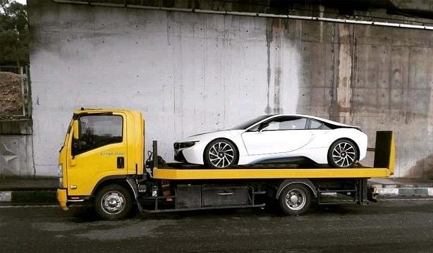 حمل خودرو به سمنان