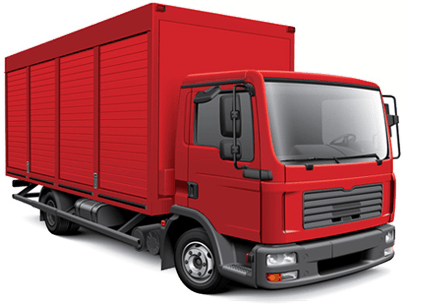 Cargo Truck PNG Background Image
