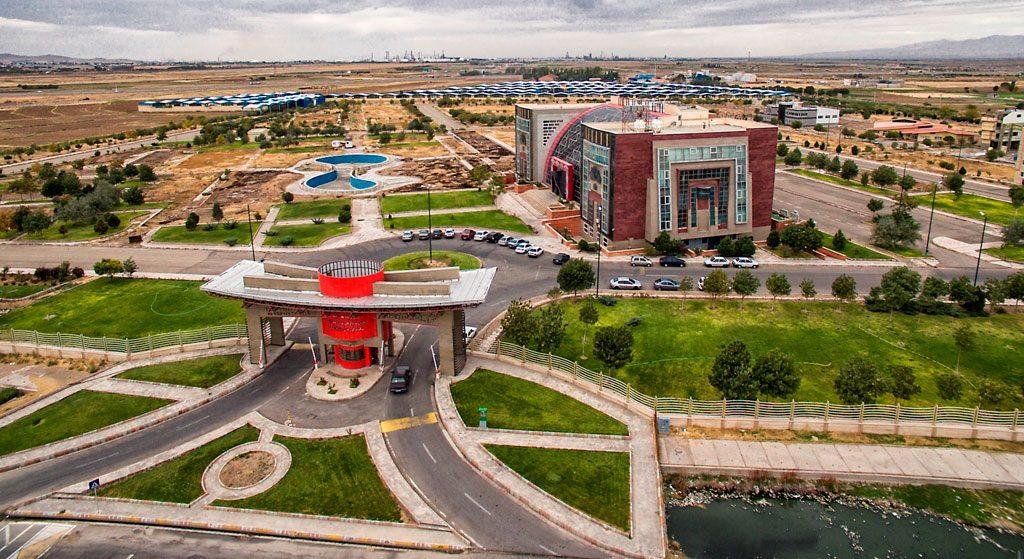 باربری به شهرک صنعتی تبریز از تهران