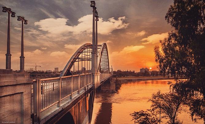 حمل بار با نيسان به خوزستان از تهران