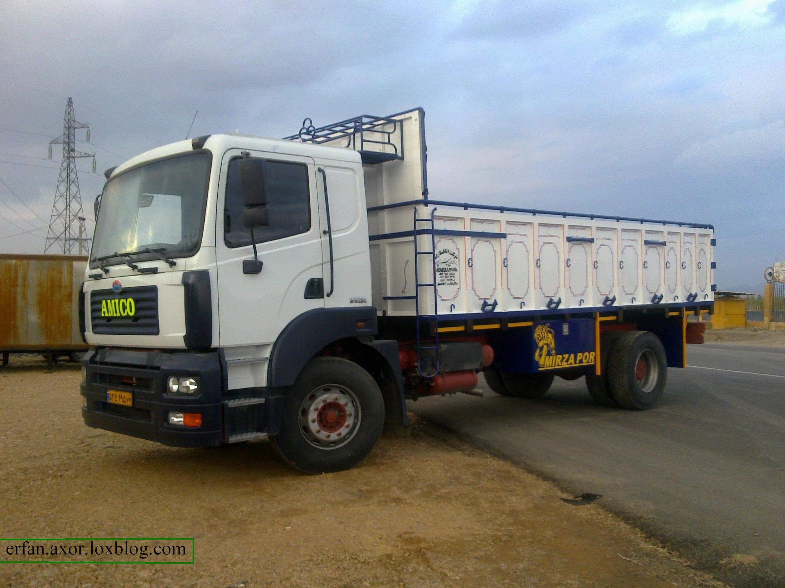 حمل و نقل داخلی توسط کامیون