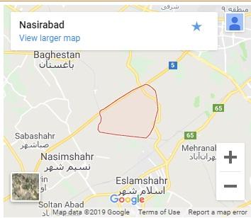 شهرک صنعتی نصیرآباد
