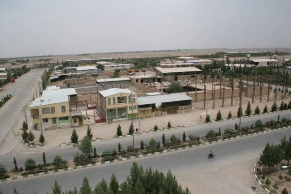 باربری به شهرک صنعتی کرمان