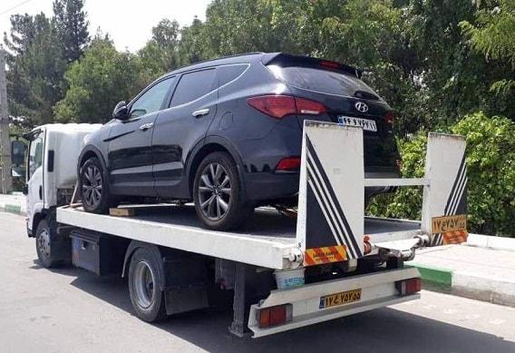 حمل خودرو به اصفهان