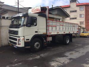 حمل بار با کامیون به بجنورد
