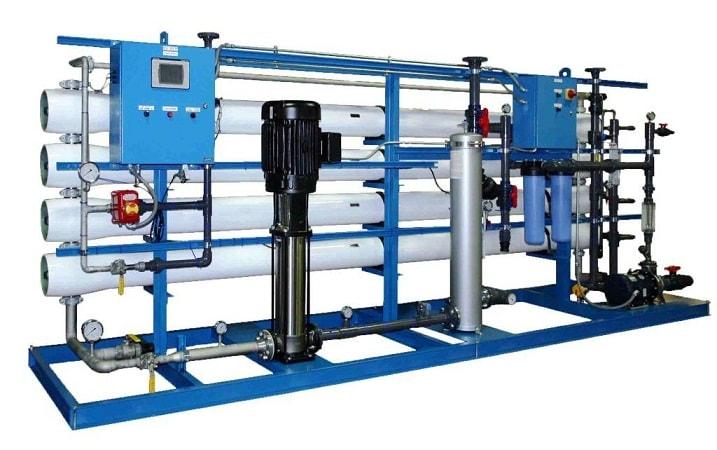 حمل دستگاه تصفیه آب صنعتی