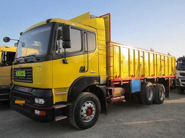 حمل و نقل بار با کامیون از تهران