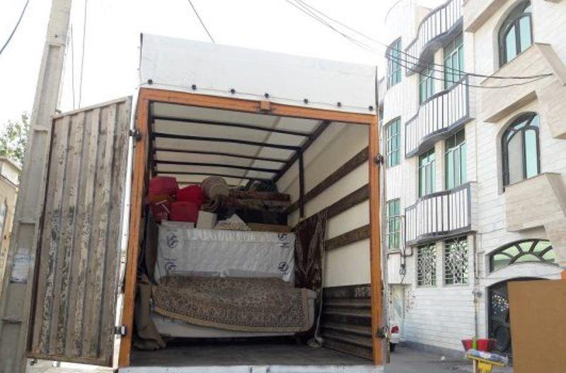 ارسال اثاث منزل با کامیونت