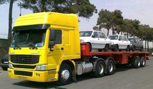 حمل خودرو با خودرو بر از نارمک