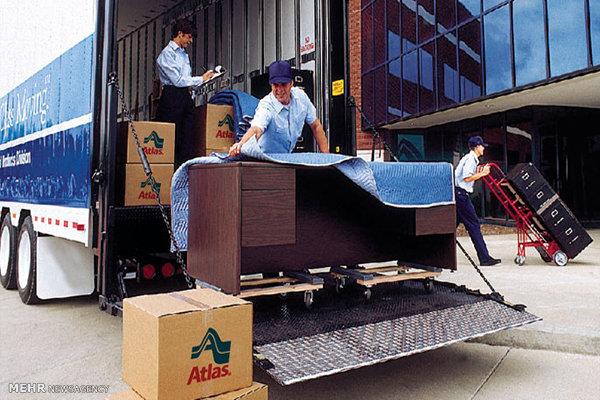 حمل اثاثیه منزل به ساری