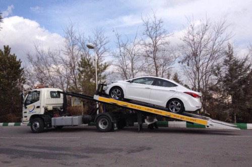 حمل خودرو به اراک
