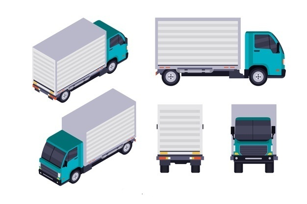 انواع کامیون باربری