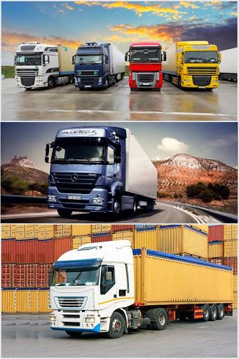 انواع کامیون حمل بار