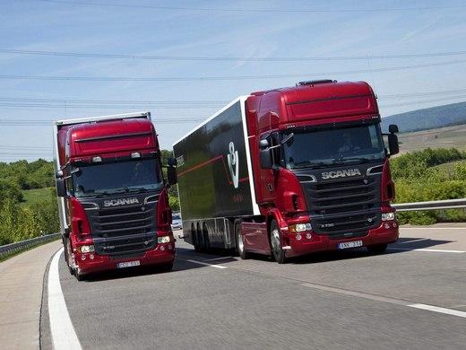 باربری با کامیون در محدوده فتح