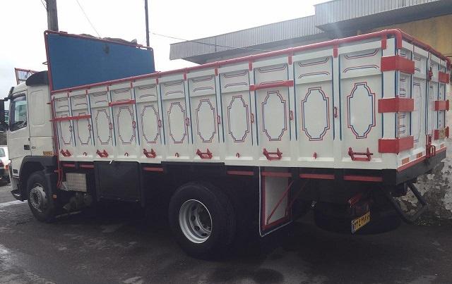 باربری ارزان کامیون جاسک