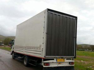 باربری با کامیونت ایسوزو ۵ متری