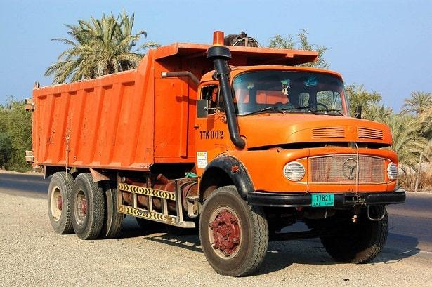 باربری کامیون بنز 15 تن
