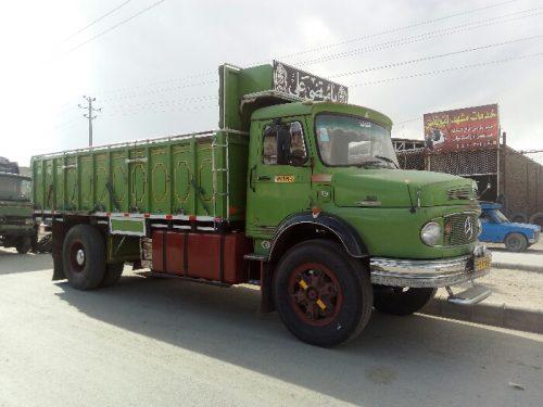 حمل بار با کامیون به گرمسار