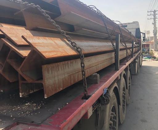 حمل دربستی انواع آهن آلات برای مشهد