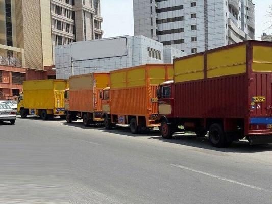 کامیونت حمل اثاث