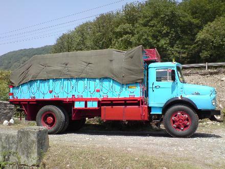 ارسال بار با کامیون و تریلی به پارس آباد