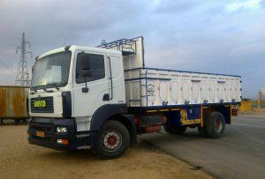 باربری انواع کامیون تهران به ایوانکی