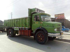 باربری کامیون تهران قزوین