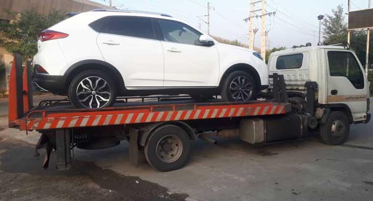 کرایه حمل خودرو با خودروبر به کرمان
