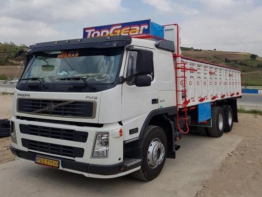 باربری با کامیون به فیروزکوه