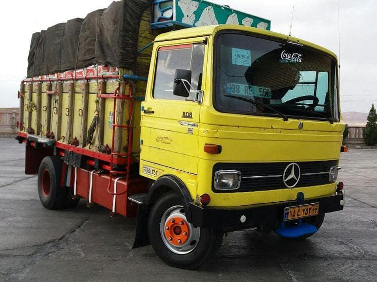 حمل و نقل بار استفاده از خاور روباز