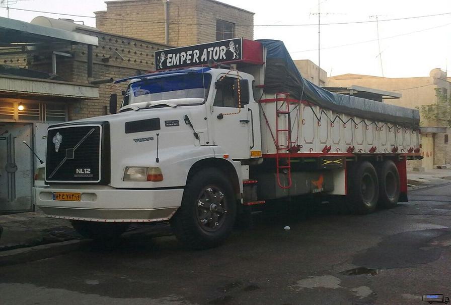 باربری با کامیون به مرز جلفا از تهران