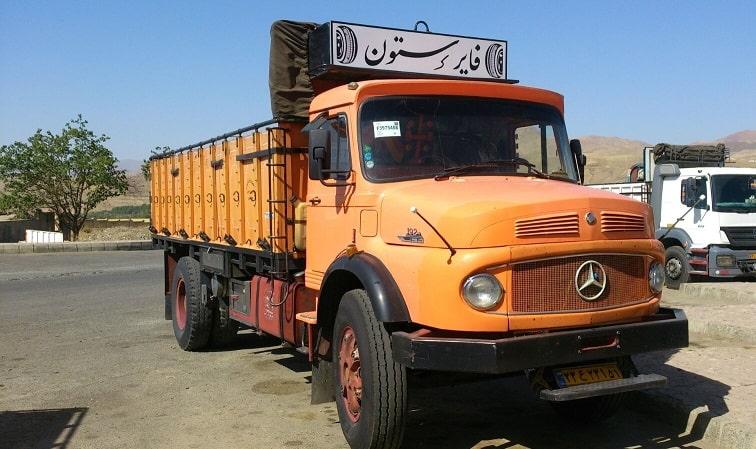 حمل بار با کامیون از تهران به اصفهان