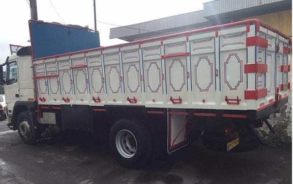 باربری کامیون مرز سومار
