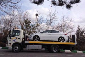 ارسال خودرو به شیروان