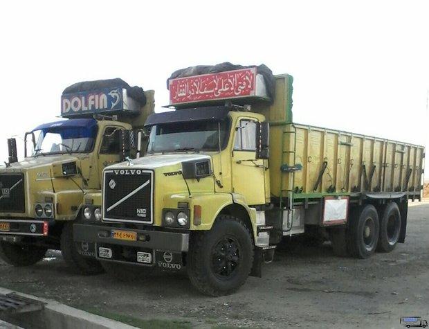باربری کامیون واوان