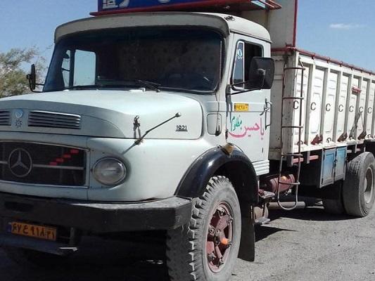 باربری با کامیون از تهران به خرمشهر