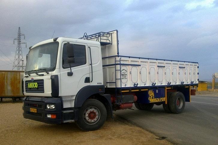 باربری با کامیون به بهشهر