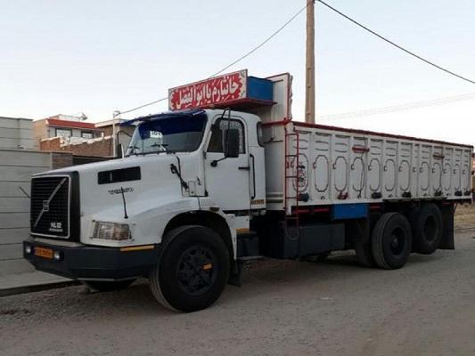 باربری به شهرک صنعتی خرم آباد با کامیون