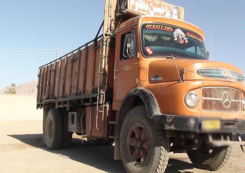 باربری کامیون تهران به ایرانشهر