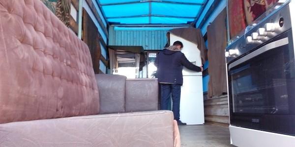حمل اثاثیه از تهران به پیرانشهر